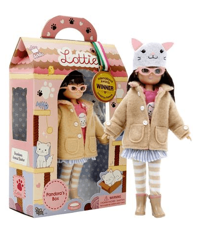 Perfect Doll for the Cat Lover in your life! This playtime doll with kitty theme is perfect!