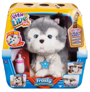 Little Live Pets My Dream Puppy Frosty #Giveaway