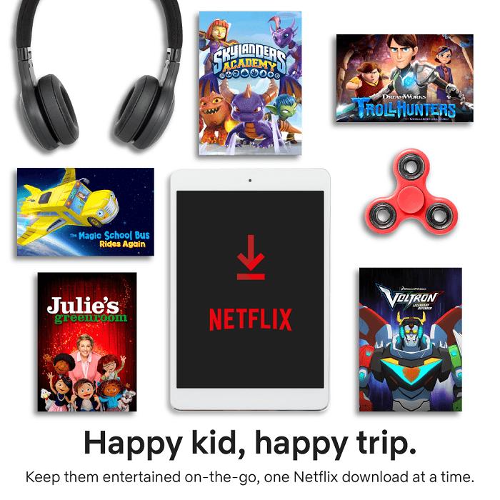 Travel Essentials For Kids Netflix