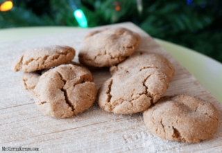 These Soft Gingersnap Cookies are the best recipe! Plus, they are chewy delicious!