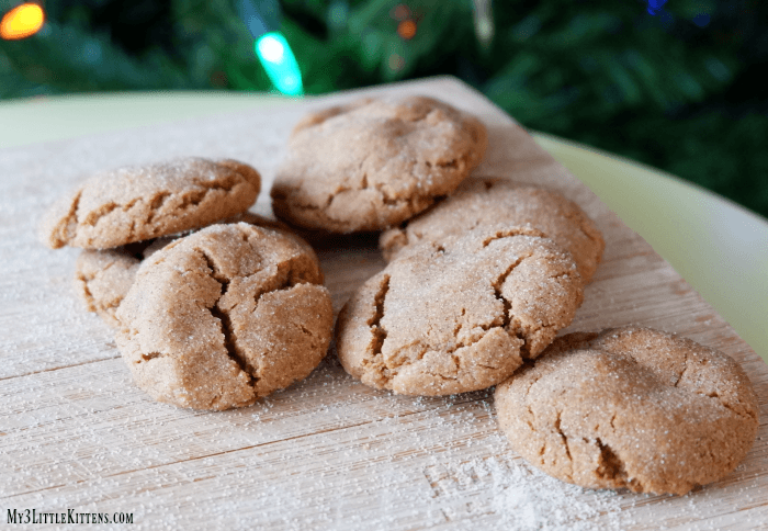 Soft Gingersnap Cookies