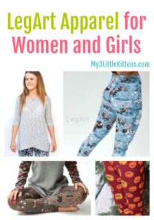 LegArt Apparel for Women and Girls features leggings, tops, tunics, joggers and more!