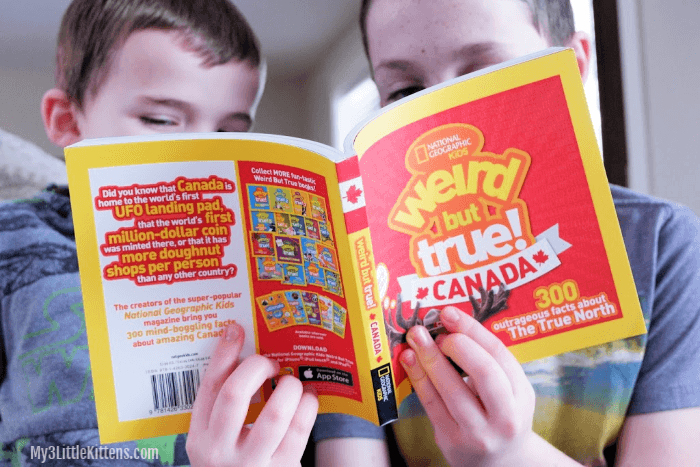 Weird But True Book Series from National Geographic Kids - Canada, Christmas and More!