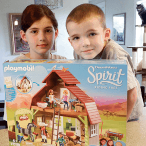 Dreamworks Spirit Riding Free Barn by Playmobil. Horses, Cats, Animals, Cowboy and More!