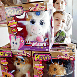 Adopt a friend with Rescue Runts. With Dogs, Cats and Unicorns to love, kids can save a furry baby!